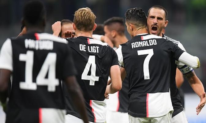 Juventus Gagalkan Langkah Inter Milan Menambah 3 Poin