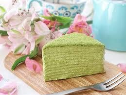 Crepes Cake Matcha